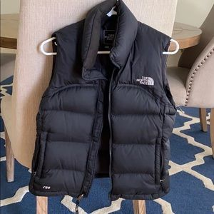 North Face 700 goose down vest